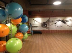 The cardio studio at Jatomi Gym in Istanbul, Turkey